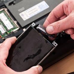 débrancher le disque dur d'un PC portable