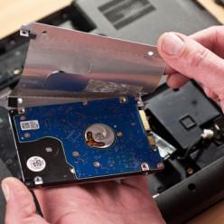 Retirer la protection du disque dur