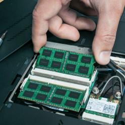 remplacer la mémoire vive d'un portable