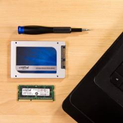 Changement du disque dur d'un PC portable