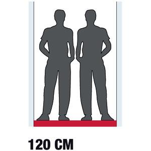cotes pour la largeur d'une pièce ou d'un couloir